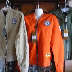 Подростковая куртка - бомбер (ветровка)