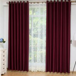 Curtains are new