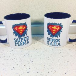 Mugs for super parents