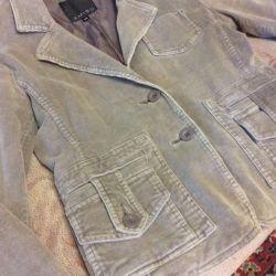 Пиджак вельветовый Amisu новый