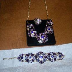 Set frumos de bijuterii