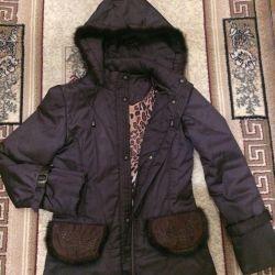 Vizon kaplama ile ceket