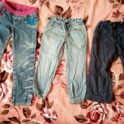 Jeans, pants for girl