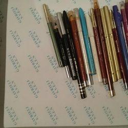 Creioane pentru buze și ochi.
