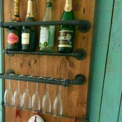 Bar stand.