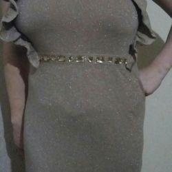 rochie cu lurex