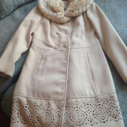 Эффектное пальто на 46 размер