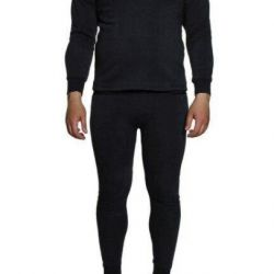 Thermal underwear with fleece