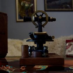 Unique antique theodolite Geokartprom