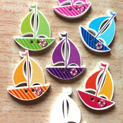 Buttons Ship, price for 1 piece