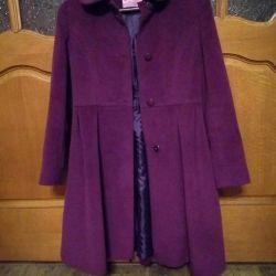 Coat for the girl demi-season