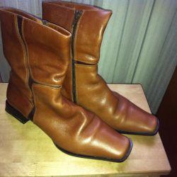 Δερμάτινες μπότες 37