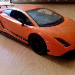 The car on the radio Lamborghini Callardo