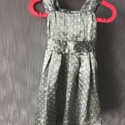 Dress 3-4 years monsoon. + Rim as a gift for color
