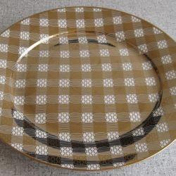 Porselen servis tabağı (27 cm) yeni