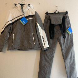 Ski new warm suit 46-48