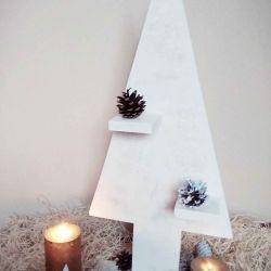 Herringbone Christmas Hand Made