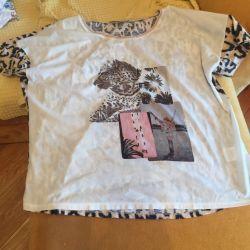 2 футболки-рубашки Oui 52-56