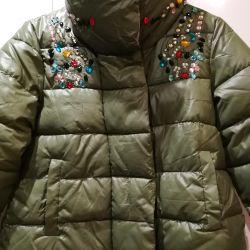 Rhinestones ile ceket