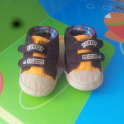 Sneakers, cotton trousers for baby
