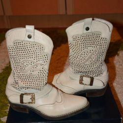 Boots demi-season Blumarine Italy Ideally