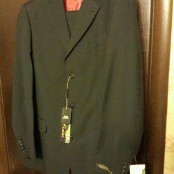 New Men's Suit pants and jacket.