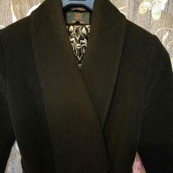 Coat stylish with an asymmetrical bottom
