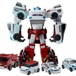 Transformer Tobot Quatran mini 20 cm, new