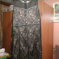 Kısa gece elbisesi.