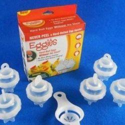 Κέλυφος για αυγά χωρίς κέλυφος Eggies, 6 τεμάχια