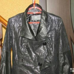 Italy new jacket natures. leather