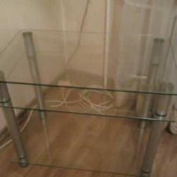Table cabinet glass for tv