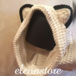 Snood with ears