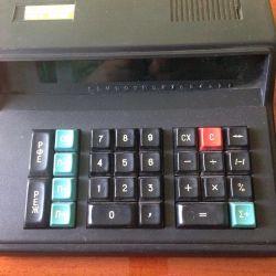 Калькулятор древний из ссср