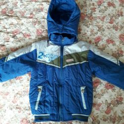 I will sell a jacket fall-spring growth 110-116