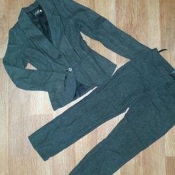 Classic wool suit 42 rub