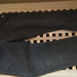 Pantaloni velveteen r. 134