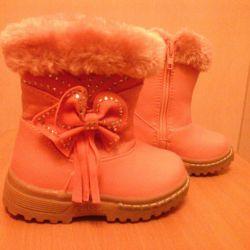 Cizme de iarnă caldă (branț de 13,5 cm) 350r