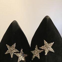 Βελούδινες μπότες με αστέρια