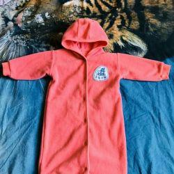 jumpsuit bag envelope fleece
