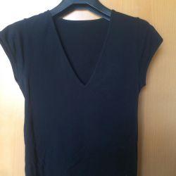 Μπλουζάκι S M μαύρο