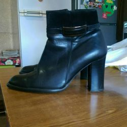 Nat Leather ankle boots p 36-37