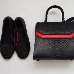 Python deri çanta