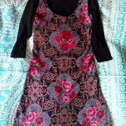 Платье-туника,стрейч, новое. 44-46.