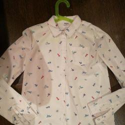 Kız çocuğu için gömlek 6 farklı seçenek