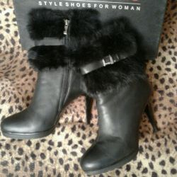 Boots winter naturalka