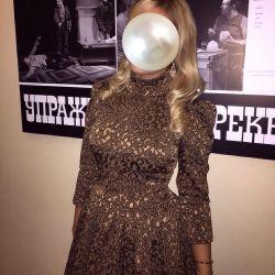 Jacquard designer dress