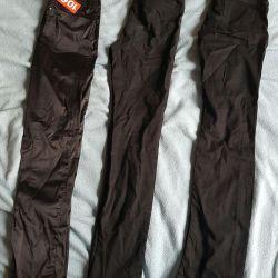 Trousers are black teenage