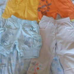 Shorts and pants for 3-5 years