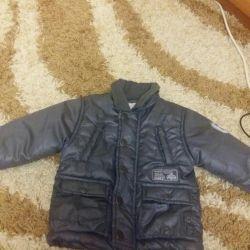 Jacket pe băiat